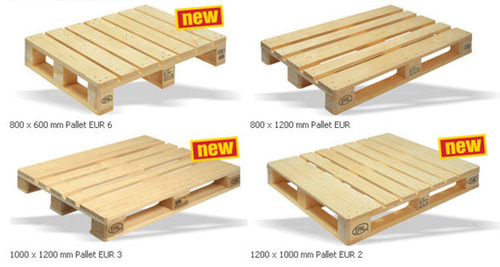 Shivam Packaging Euro Wooden Pallets